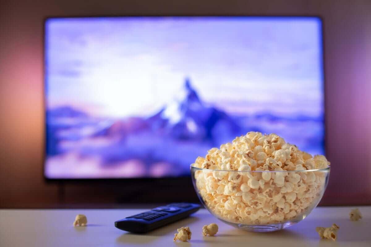 Popcornia ja elokuva.