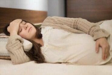 Raskausajan dysmenorrea: milloin tulee huolestua