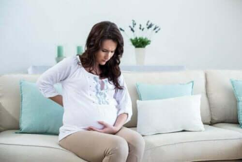 Raskausajan dysmenorrea on yleistä