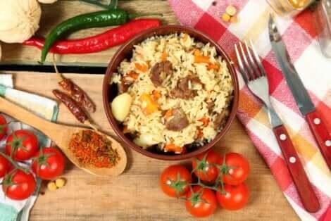 Bulgur-vehnä sopii moniin eri resepteihin
