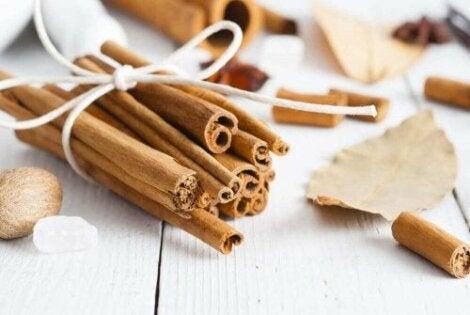 Kanelin käyttötarkoitukset ulottuvat ruoan maustamisesta eri vaivojen lievittämiseen