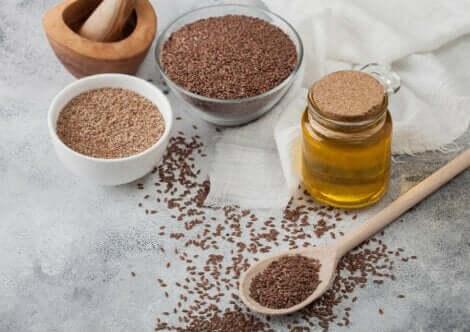 Omega-3-tarpeen saa täytettyä pellavansiemenillä