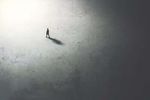 Autofobia on pelkoa olla yksin