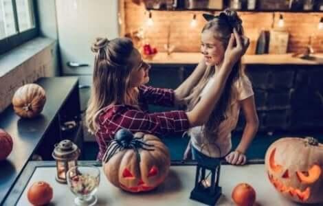 Halloween-asun tekeminen on hauskaa puuhaa syksyllä