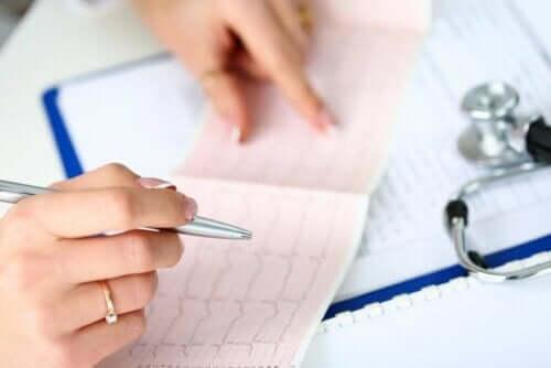 Bradykardia voidaan havaita EKG:ssä