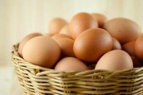 Kananmunissa on biotiinia