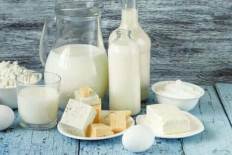 Maitotuotteista saa hyviä hiilihydraatteja