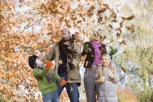 Ihanteellisia ulkoilma-aktiviteetteja syksyllä