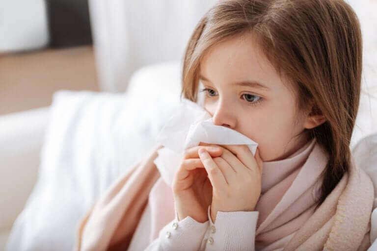 On olemassa lasten allergioita, jotka voivat aiheuttaa mm. nuhaa.