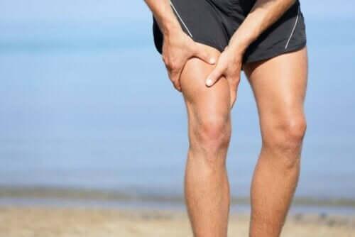 Nivusrevähdys on syy keskeyttää liikunnan harrastaminen