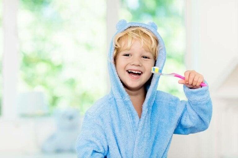 Hyvän suuhygienian edistäminen lapsilla