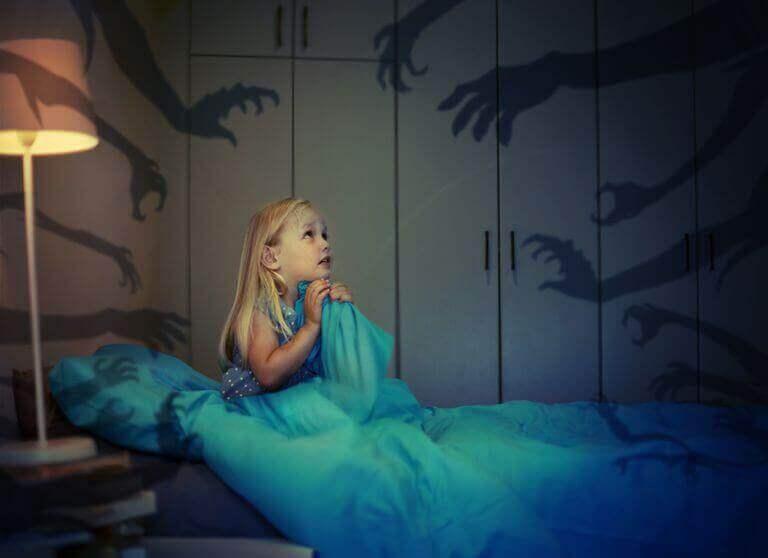 Kuinka lievittää ahdistusta lapsilla?