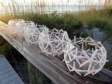 Kalamaljoista voi valmistaa kauniita ulkolyhtyjä pihan koristeluun
