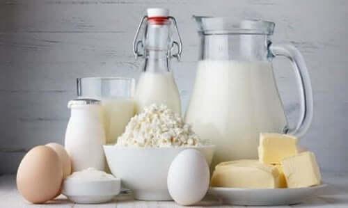 Maitotuotteita tarvitaan luille