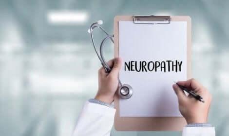 Neuropatia on diabeteksen yleinen komplikaatio