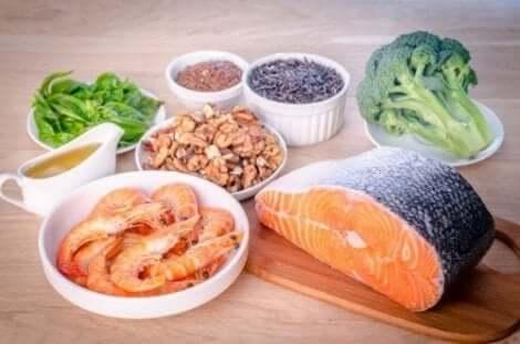 Omega-3:a sisältävät ruoat ovat hyväksi nivelille ja lihaksilla raskausaikana
