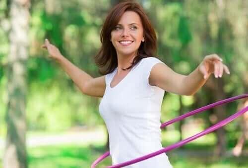 Hoida kroonista ummetusta harrastamalla liikuntaa.