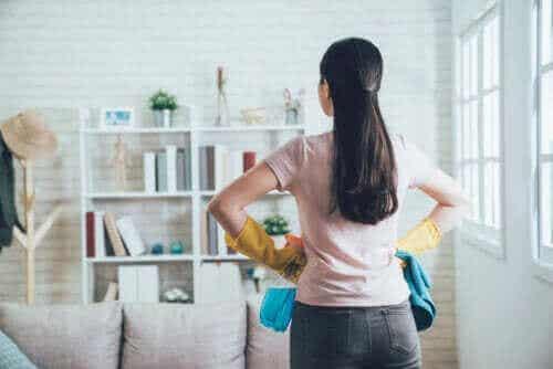 Käytä 20/10 -menetelmää kodin järjestämiseen