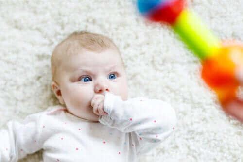 Selvitä, miksi vauvat tuijottavat