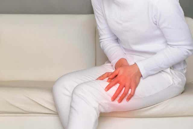 Kipu räätälinlihaksessa voi johtua esimerkiksi traumaattisesta vammasta.