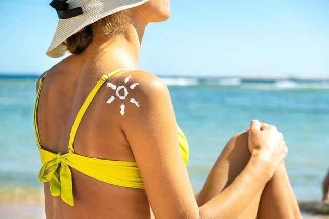 Ruskettuminen on haitallista raskausaikana, jos aurinkoa otetaan liikaa