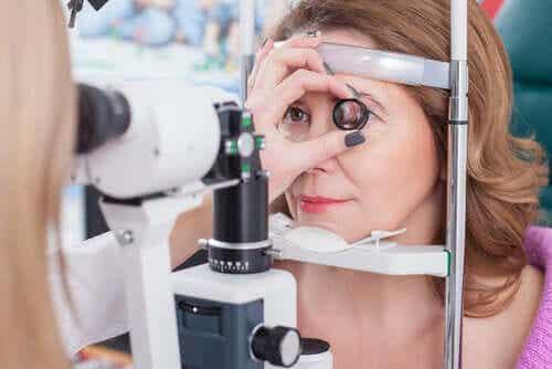 Retinitis pigmentosa ja silmätutkimus