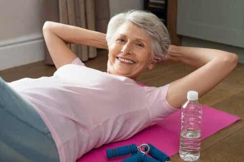 Suoliston toiminnan parantaminen liikunnan avulla.