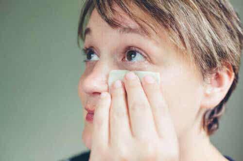 Turvonneet silmäluomet ovat tavallinen ilmiö.