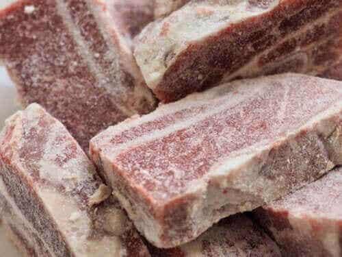 Millainen on pakastetun lihan säilyvyys?