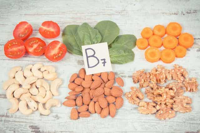 Biotiini on läsnä monissa elintarvikkeissa.