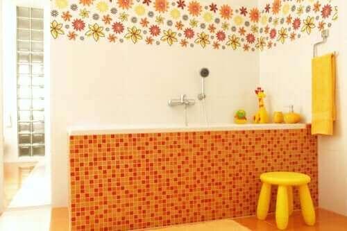 7 ideaa lapsiystävällisen kylpyhuoneen sisustamiseen