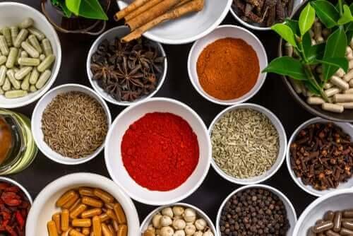 Luontaishoitoja mausteista, joita tiedekin tukee