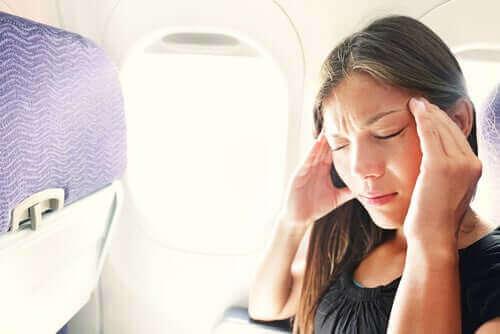 Kuinka välttää stressiä lennon aikana