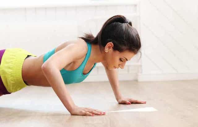 Punnerrukset ovat anaerobisia harjoituksia