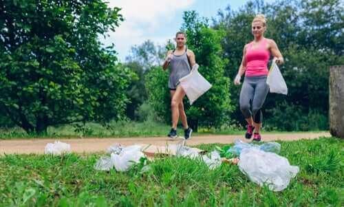 Plogging: liiku samalla kun huolehdit ympäristöstä