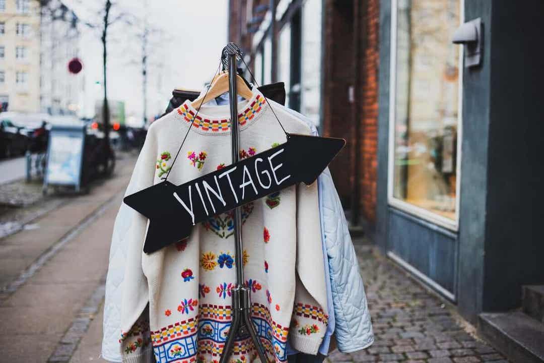 Käytettyjen vaatteiden ostaminen on hyväksi planeetalle