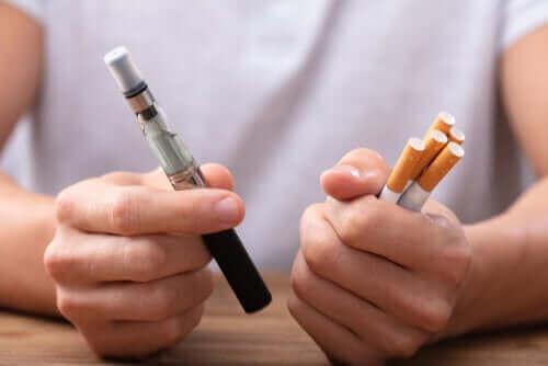Sähkösavuke vai tupakoinnin lopettaminen?