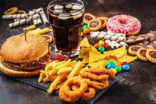 Hyperherkullinen ruoka on yleensä pikaruokaa.