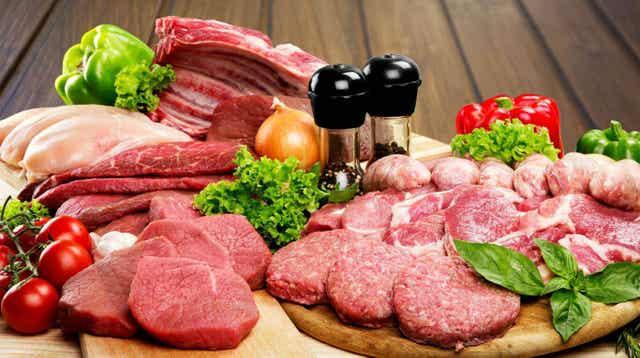 Punainen liha voi saada virtsahappopitoisuuden nousemaan