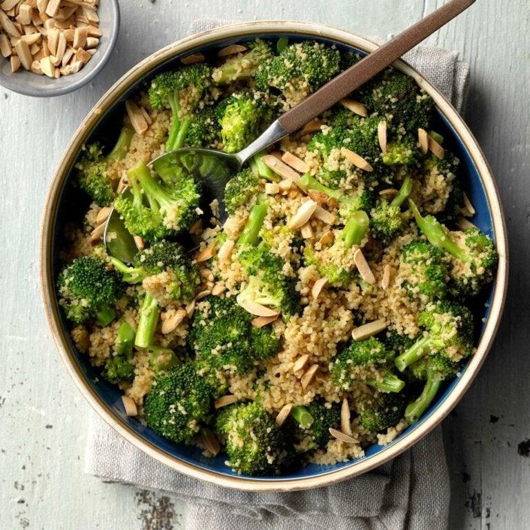 Parsakaali-kuskussalaatti: kevyt ja terveellinen resepti