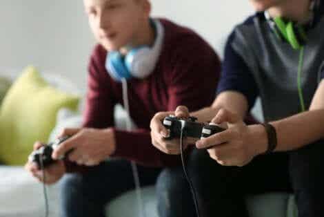 Käyttäytymisriippuvuudet: videopelit.
